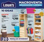 Ofertas de Lowes, Catálogo Enero 2017