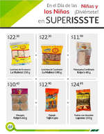 Ofertas de SUPERISSSTE, Folleto de temporada