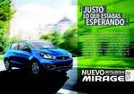 Ofertas de Mitsubishi Motors, mirage 2017