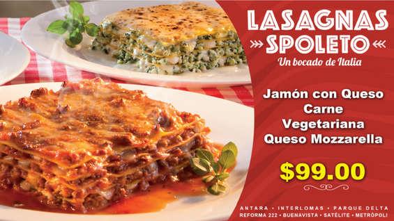 Ofertas de Spoleto, Lasagna