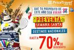 Ofertas de Price Travel, Preventa Semana Santa