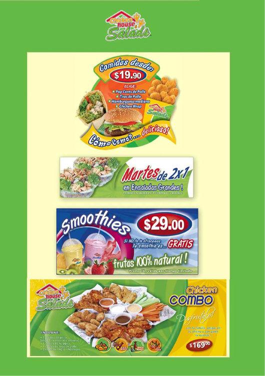 Ofertas de Chicken House & Salads, Promociones