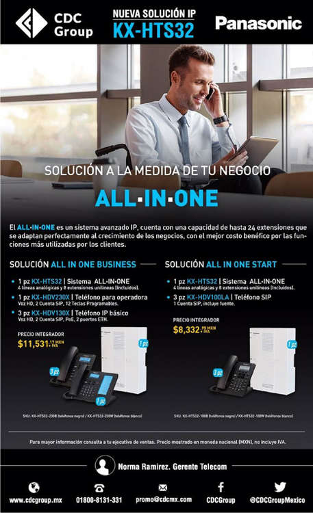 Ofertas de Centro de Conectividad, All In One