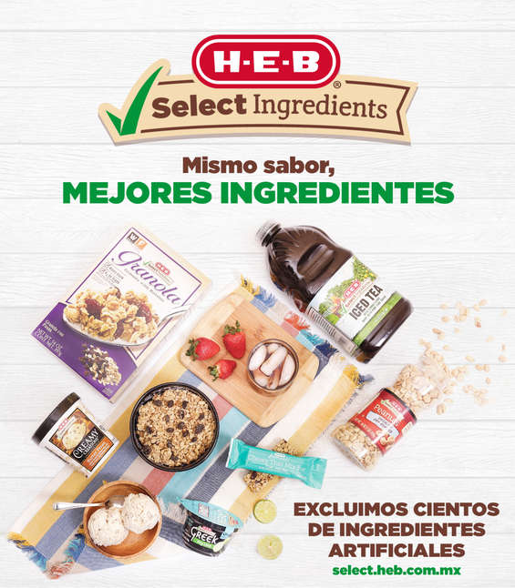 Ofertas de H-E-B, Select Ingredients