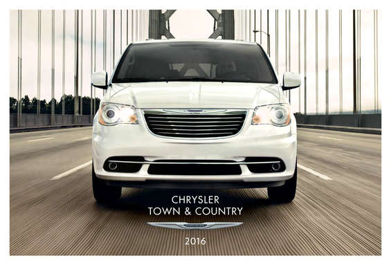 Ofertas de Chrysler, Town & Country 2016