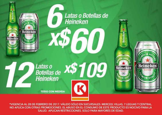 Ofertas de Círculo K, Heineken