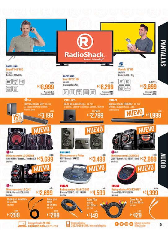 Ofertas de Radio Shack, Catálogo marzo