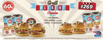 Ofertas de Sixties Burger, Grill Weekend Combo