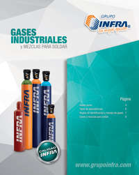 Gases industriales y mezclas para soldar