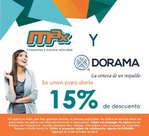 Ofertas de Tintorerías Max, CONVENIO DORAMA-MAX