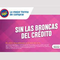 Sin las broncas del crédito