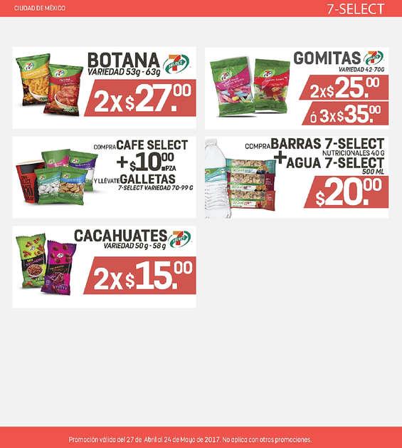 Ofertas de 7-Eleven, Promociones CDMX