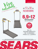 Ofertas de Sears, Vive Saludable