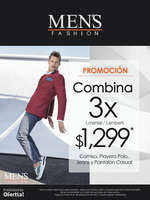 Ofertas de Men's Fashion, Combina 3 x $1,299.00