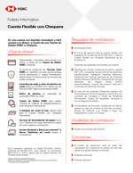 Ofertas de HSBC, Cuenta Flexible con chequera