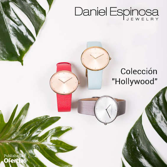 Ofertas de Daniel Espinosa, Coleccion Hollywood