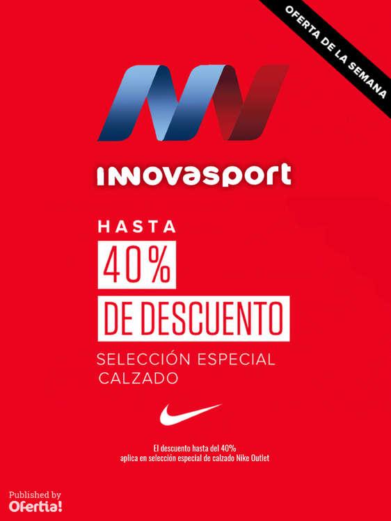 Ofertas de Innovasport, Hasta 40% DE DESCUENTO
