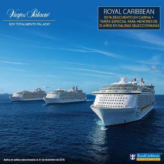 Ofertas de Viajes Palacio, Royal Caribbean
