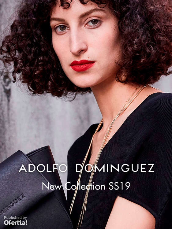 Ofertas de Adolfo Dominguez, New Collection SS19