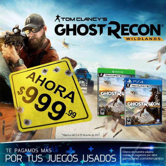 Ofertas de Game Planet, Ghost recon