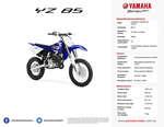 Ofertas de Yamaha, YZ 85