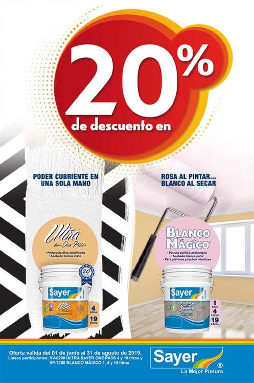 Ofertas de Sayer, One Pass Blanco Mágico