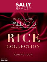 Ofertas de Sally Beauty Supply, Rice Collection Coming Soon