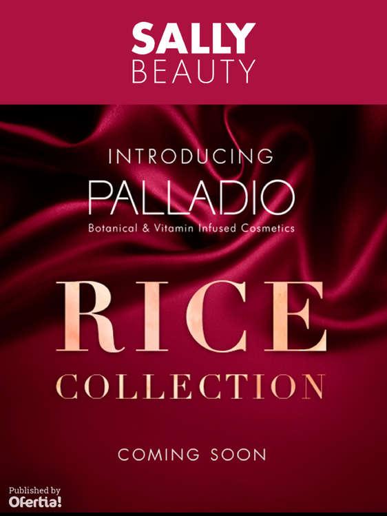Ofertas de Sally Beauty Supply, Rice Collection Coming Soon