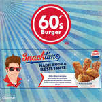 Ofertas de Sixties Burger, Snack Time - Deditos Rockabilly
