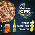 Ofertas de California Pizza Kitchen, Noches CPK