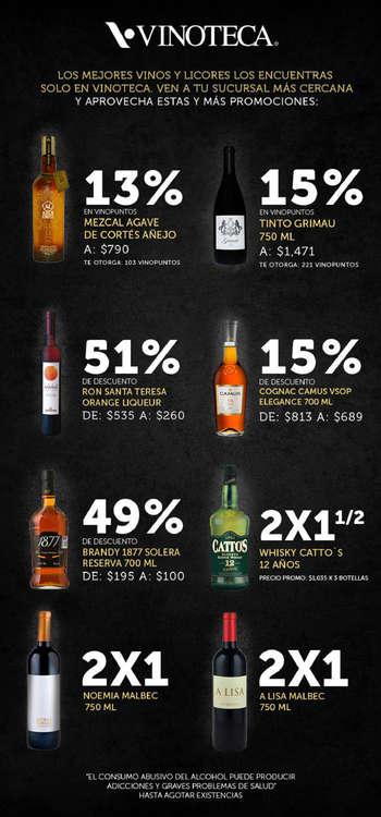 Ofertas de Vinoteca, Aprovecha estas y más Promociones