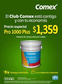 El club Comex está contigo - Pro 1000