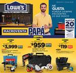 Ofertas de Lowes, Macroventa Papá