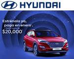 Ofertas de Hyundai, Estrena una Tucson