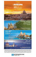 Ofertas de Mega Travel, Disfruta de Europa con 50% de descuento