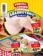 Ofertas de S-Mart, Viernes, sábado y domingo abarrotero - TAB