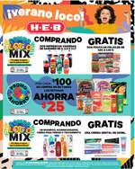 Ofertas de H-E-B, Flyer Semanal Verano Loco