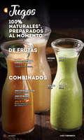 Ofertas de Toks Restaurante, Menú Nacional