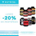 Ofertas de Nutrisa, Lunes - Proteínas -20%