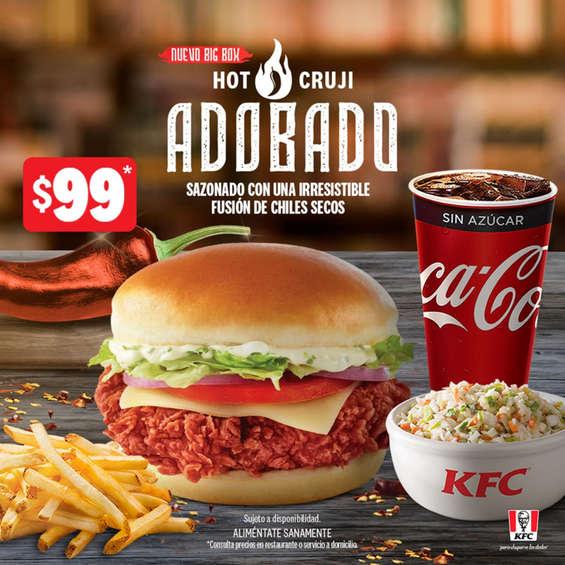 Ofertas de KFC, Nueva big box hot cruji