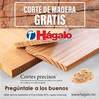 Corte de madera gratis