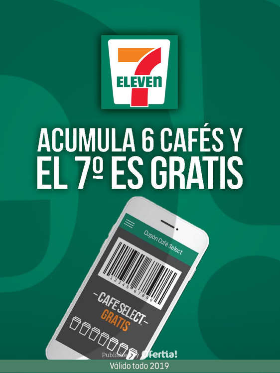 Ofertas de 7-Eleven, 7° café GRATIS