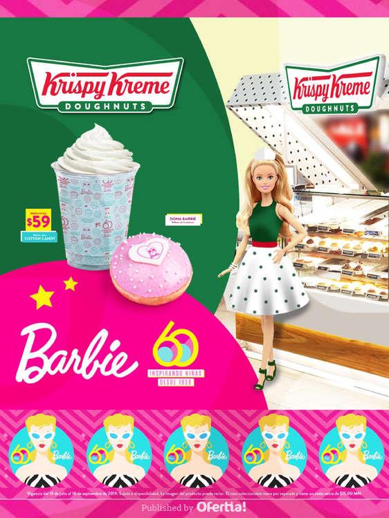 Ofertas de Krispy Kreme, Barbie x Krispy Kreme
