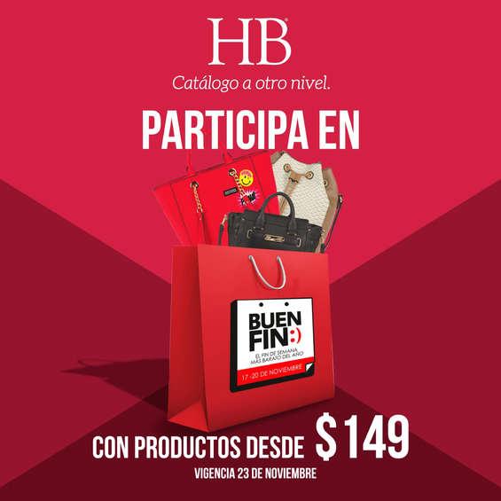 Ofertas de HB® Catálogo A Otro Nivel, Participa en Buen Fin con productos desde $149