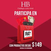 Participa en Buen Fin con productos desde $149