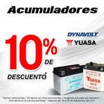 Ofertas de Motomundo, Promo Acumuladores