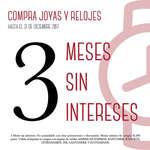 Ofertas de Cristal Joyas, Meses Sin Intereses