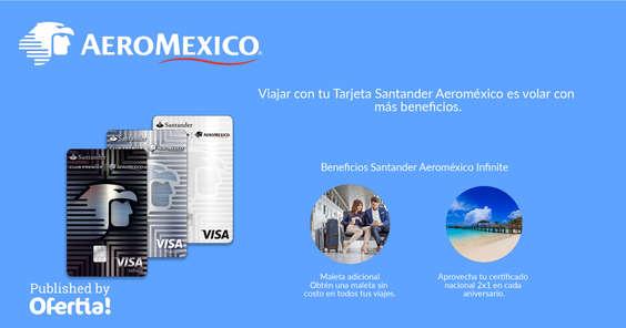 Ofertas de Aeromexico, Tarjeta Santander