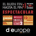Ofertas de D'Europe, El Buen Fin hasta el Fin