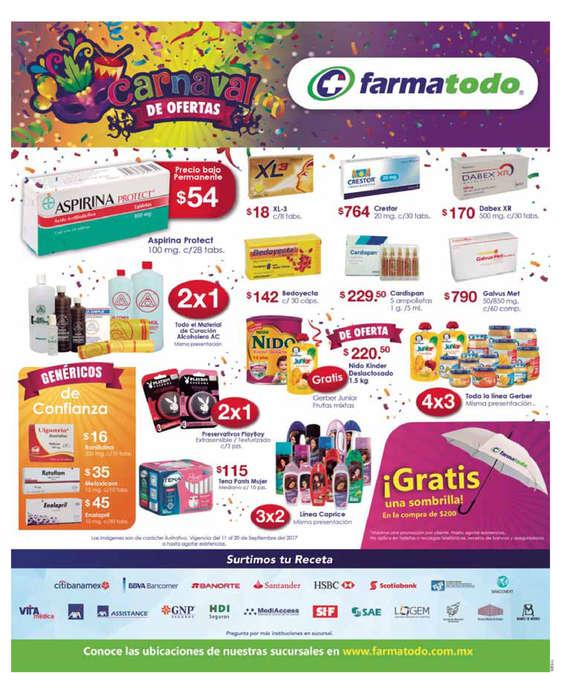 Ofertas de Farmatodo, Carnaval de ofertas